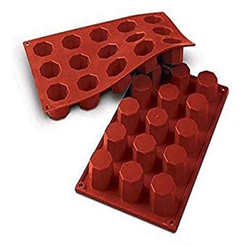 Silikomart Silicone Classic Collection Mold Shapes, Octagon