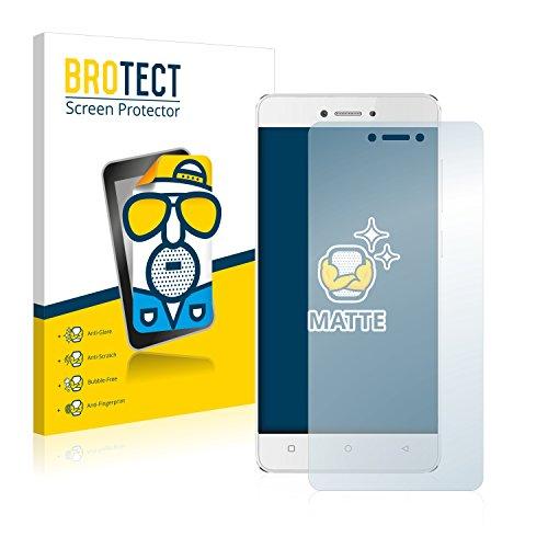 BROTECT 2X Entspiegelungs-Schutzfolie kompatibel mit Gionee P7 Max Bildschirmschutz-Folie Matt, Anti-Reflex, Anti-Fingerprint