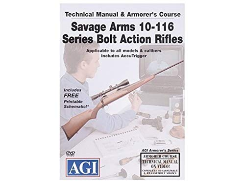 Savage Arms 10-116 Series Bolt Action Rifles Armorer's Course