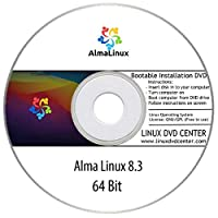 "Alma Linux 8.3 ""Minimal"" (64Bit) - Bootable Linux Installation DVD"