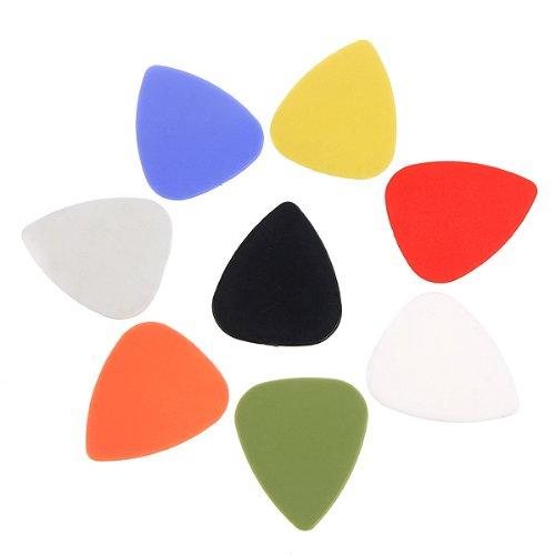 Ablegrow (TM) 8PCS/set chitarra pick plettri elegante colorato plettri 0.76–0.86mm strumenti musicali