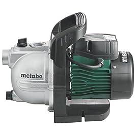 METABO 600963000 – Bomba de agua para jardín P 3300 G 900W altura máx. bombeo 45 m