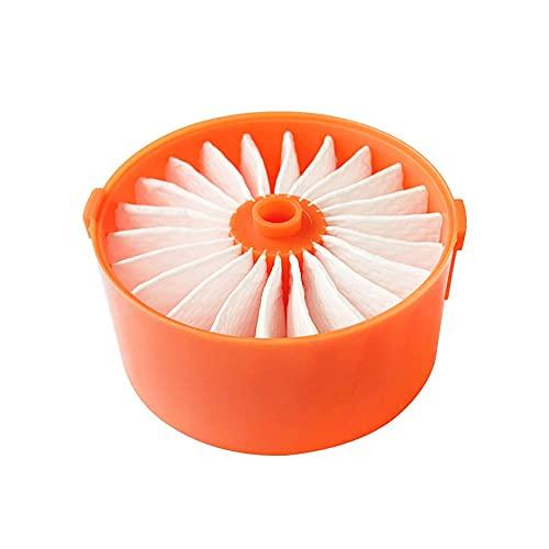 jiji Filtro de 1pc para Black Decker BSV2021 Accesorio de aspiradora inalámbrica Herramienta de Limpieza para el hogar No es el Original (Color : Orange)