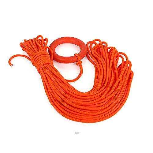 Professionelle Außen 30 Meter Rettungsleine Klettern Sicherheit Schwimmring Armband Schwimmleine Wasserrettung Schnorcheln Seile