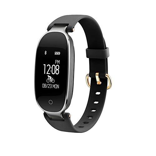 HBBOOI Fitness Tracker para Mujeres Reloj de Actividad y Monitor de frecuencia cardíaca IP67 Pulsera Inteligente a Prueba de Agua con Monitor de sueño Podómetro Calorías Compatible