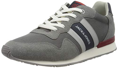 JACK & JONES JFWSTELLAR CASUAL COMBO FROST GREY, Herren Sneaker, Frost Gray, 43 EU (9 UK)