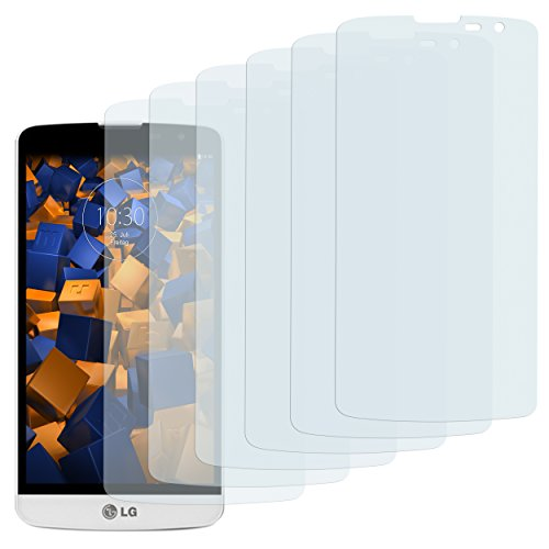 mumbi Schutzfolie kompatibel mit LG L Bello Folie klar, Bildschirmschutzfolie (6X)