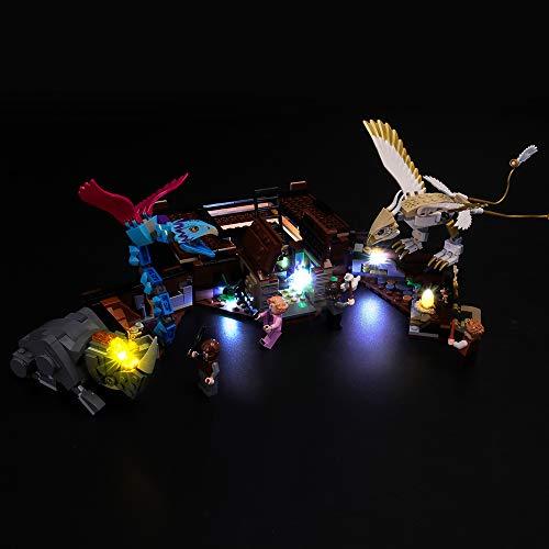 BRIKSMAX Kit de Iluminación Led para Lego Fantastic Beasts Maleta de Criaturas Mágicas de Newt,Compatible con Ladrillos de Construcción Lego Modelo 75952, Juego de Legos no Incluido
