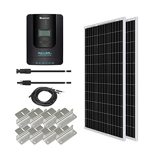 Renogy 400 Watt 12 Volt Monocrystalline Solar...