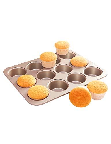 CHEFMADE マフィン 型 カップケーキ粘りにくいケーキ型 (12ケ取)