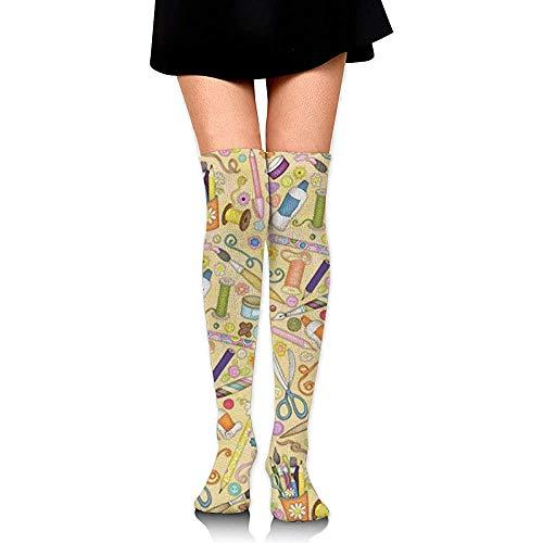 Preisvergleich Produktbild Qingqiu Briefpapier Socken Kniestrümpfe Lange Athletische Sport Tube Lässige Stiefel Strümpfe Beinlinge