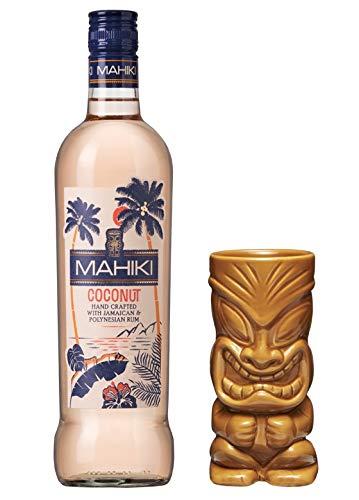 MAHIKI Coconut Rum 0,7 Liter incl. gratis Tiki Becher hellbraun PiHaMi®