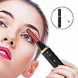Halsey99 Eyelash Curler,Heated Eyelash Curler Electric Eyelash Curler Painless Eyelash Curved Tool