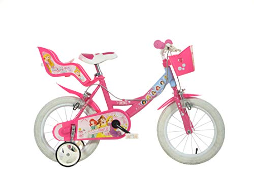 Dino Bikes 144R-PSS Disney Prinzessinnen-Fahrrad 35,6cm (14Zoll)