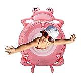 Aufblasbarer Baby Pool Float Frosch Baby Pool Float Baby Wasser Float Spielzeug Sommer Partei Dekorationen Baby Floate Für Säuglinge Für Kinder Alter 1-3 Jahre