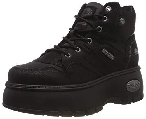 Dockers by Gerli Damen 43DR202 Hohe Sneaker, Schwarz Schwarz 620100, 41 EU