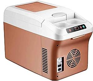 NMSLA Mini Réfrigérateur 15 litres Voiture Portable Frigo Petit Camping Congélateur Fridge Cooler Warme Glacière pour Camping Camping-Car Véhicule Camion RV Bateau Voyage Accueil