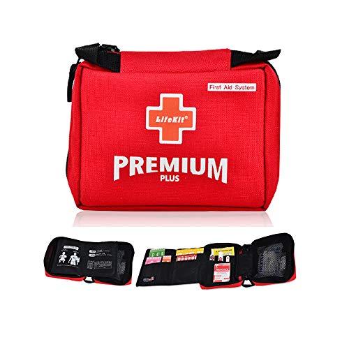 高級 救急セット 携帯用 応急処置 Kit 多目的 First Aid Kit 家庭 事務室 屋外活動 Multipurpose Emergency Kit 並行輸入