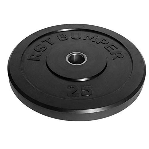 Exercise Weight Plates Barbell Two Inches 5CM Large Aperture Rubber Plate 10-45LB Weightlifting Plate Barbell Plate Austrian Pole Plate Household Bodybuilding Weight Lifting