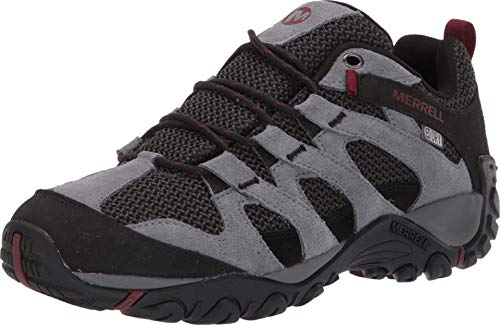 Merrell Men's ALVERSTONE Waterproof Hiking Shoe, Castlerock, 10.0 M US