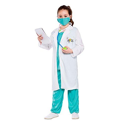 Kids Unisex Hospital Doctor Fancy Dress Costume (3-4 years)