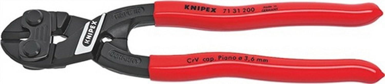 Minibolzenschneider L.200mm f.Pianodraht KNIPEX mit Aussparung B00VWMO2TK | Qualität Produkte