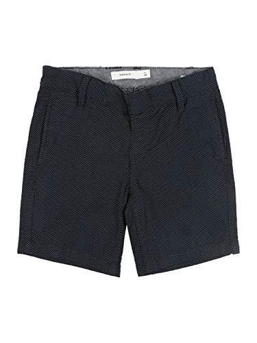 NAME IT Jungen NMMRYAN TWIBAGAN Chino Long CF Shorts, Dark Sapphire, 104