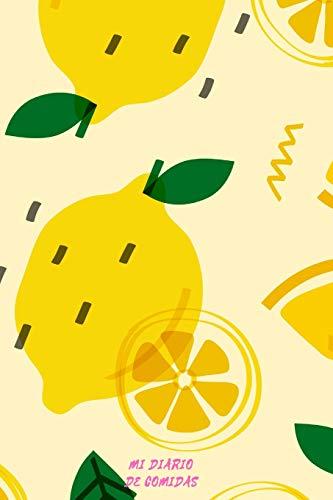 Mi Diario de Comidas: Pierde esos Kilos de Más de Forma Controlada | Cuaderno con 110 Páginas Para Controlar Tu Dieta | Registra tus Calorías | Diario de Dietas en Español
