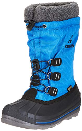 Kamik Unisex-Kinder Carmack GTX Schneestiefel, Blau (Blue BLU), 30 EU