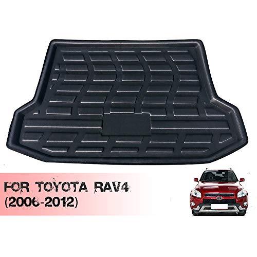Maletero Extrem/Alfombrilla para Maletero para La ModificacióN del Tronco del Toyota Rav4 (2006-2012), Los Tapetes de Goma Impermeables Brindan ProteccióN contra Todo Clima