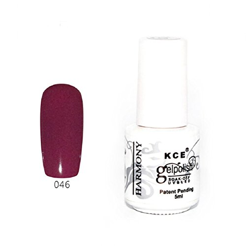 Vovotrade ❃❃ Nail Polish pur Gel UV Et Bright LED colorées Couleurs 5ML_K