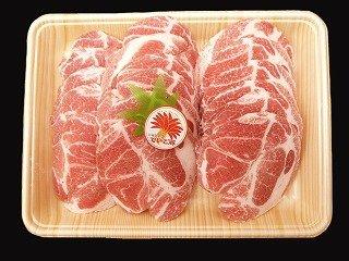 沖縄県産ブランド肉 でいご豚 肩ロース 焼肉 500g ×2 上原ミート 淡いピンクの肉色 甘みとコクがありアクの出にくい豚肉