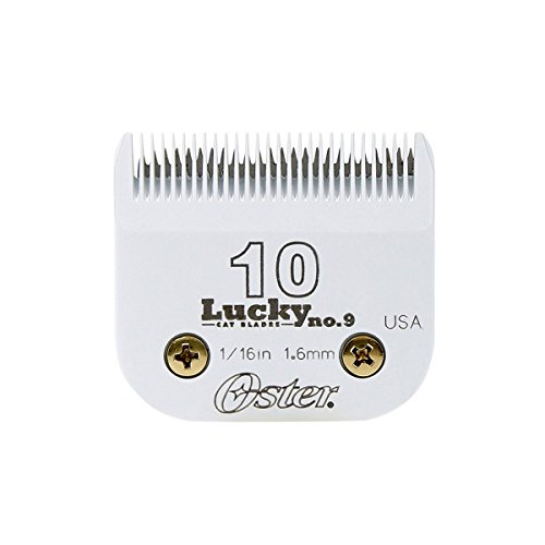 Oster Lucky No.9 Detachable Cat Clipper Blade, Size 10 (078917-046-000)