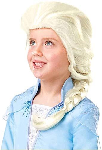 Frozen 2 Parrucca Elsa, Multicolore, Rubie'S...