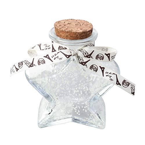 Noctilucence Glückliche Flasche Glas Origami Glückliche Sterne Gläser mit Korken Stopper DIY Wunsch Flaschen Für Papier Stern Nachricht Wunsch (Größe 2)