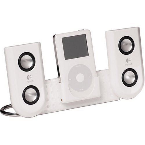 travel speakers for ipods Logitech mm22 Portable Speakers for iPod