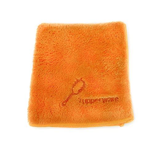 TUPPERWARE FaserPro Staubfrei Orange Mikrofaser Putztuch Tuch Staub