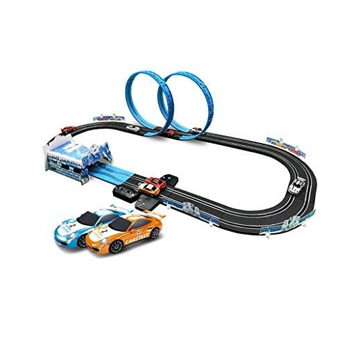 LIUFS-Pista Coche Adventure Runway Kids Toy Boy Control Remoto eléctrico Pista de...