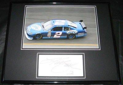 Kurt Busch NASCAR Auto Racing Framed 8x10 Photograph College
