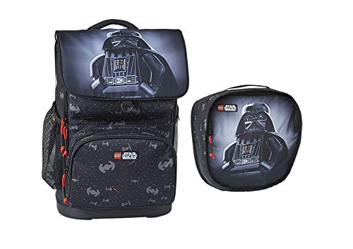 LEGO Star Wars Darth Vader - Optimo Schulranzen mit Turnbeutel