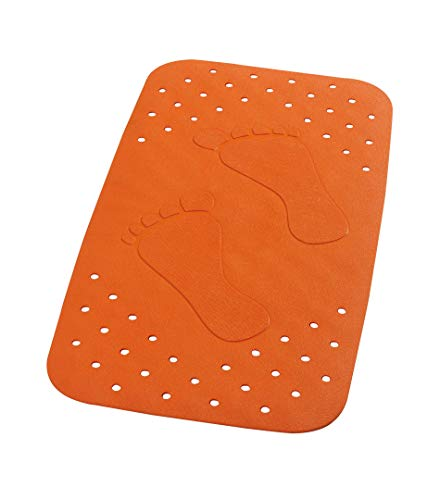 RIDDER Wanneneinlage Plattfuß neon-orange 38x72 cm
