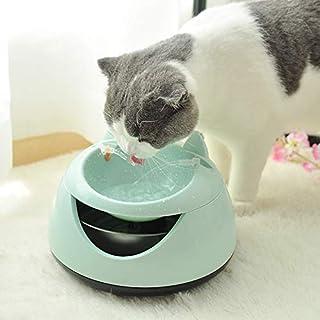 Automatisk kattfontän lysande hund USB elektrisk fontän dricksfontän dricksskål husdjur