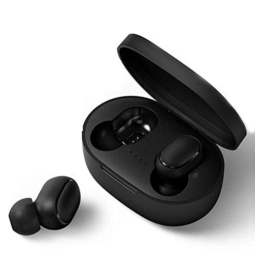 Bluetooth-Kopfhörer, Aclouddatee 2020 Bluetooth 5.0 Wireless-Kopfhörer Stereo-Soundmikrofon Mini-Wireless-Ohrhörer mit Kopfhörern und tragbarem Ladekoffer für iOS Android PC (A6-S10)