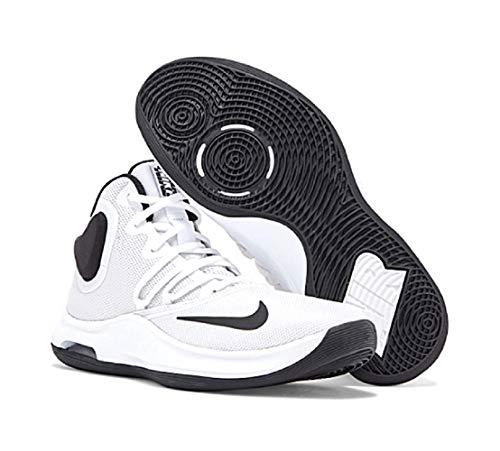 Nike Air Versitile IV, Zapatillas De Baloncesto Unisex Adulto, Blanco, 43 EU
