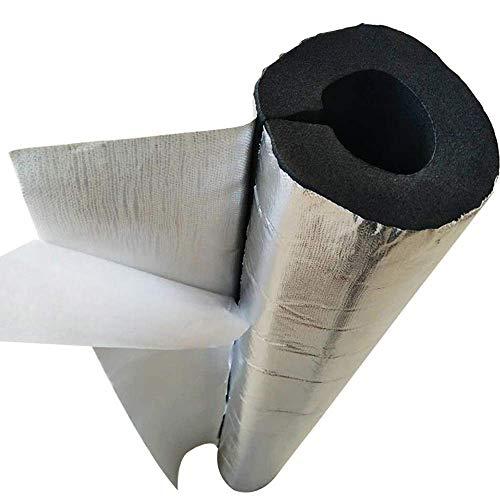GAXQFEI Isolierschaum Schlauch, 3Pcs Wasserrohr Isolierschaum Halb Split selbstklebend Feuerbeständige Isolierung Baumwolle Rohr verdicken Frostschutz- Wasserrohr Heizungsrohr Wrap Wasserrohr Wrap,60