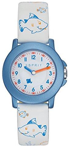 Esprit Unisex Kinder Analog Quarz Uhr mit Plastik Armband ES103454011