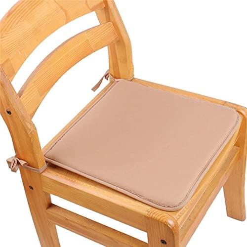 RR&LL Cojín de silla de esponja de color sólido, cojín cuadrado de la ventana del cinturón tatami comedor cojín de la silla, cojín de la decoración del hogar de