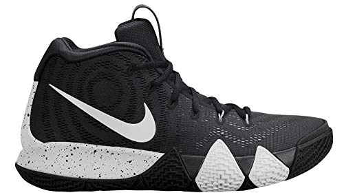 Nike Mens Kyrie 4 TB Basketball Shoes (13 D(M) US) Black/White
