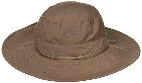 Jack Wolfskin Unisex Supplex Mosquito Hat Hut, Siltstone, M