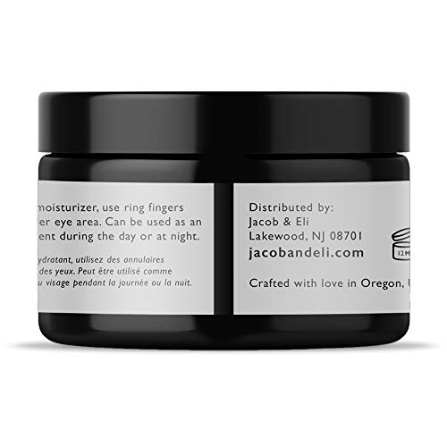 Eye Cream Gel - Top Influencer - Organic & Vegan - Luxury Quality for Dark Circles, Puffiness, Wrinkles Crow's Feet & Bags Packed with Plant Stem Cells, Vitamin E, Jojoba Oil, Argan Oil & Much More n